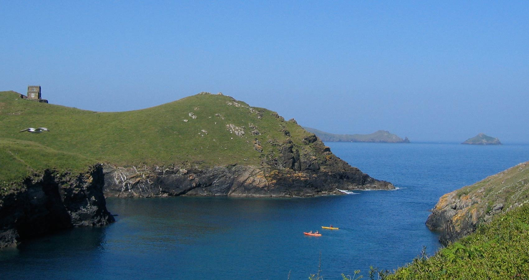 E.g. 'Kayak tours Cornwall' Port Quin