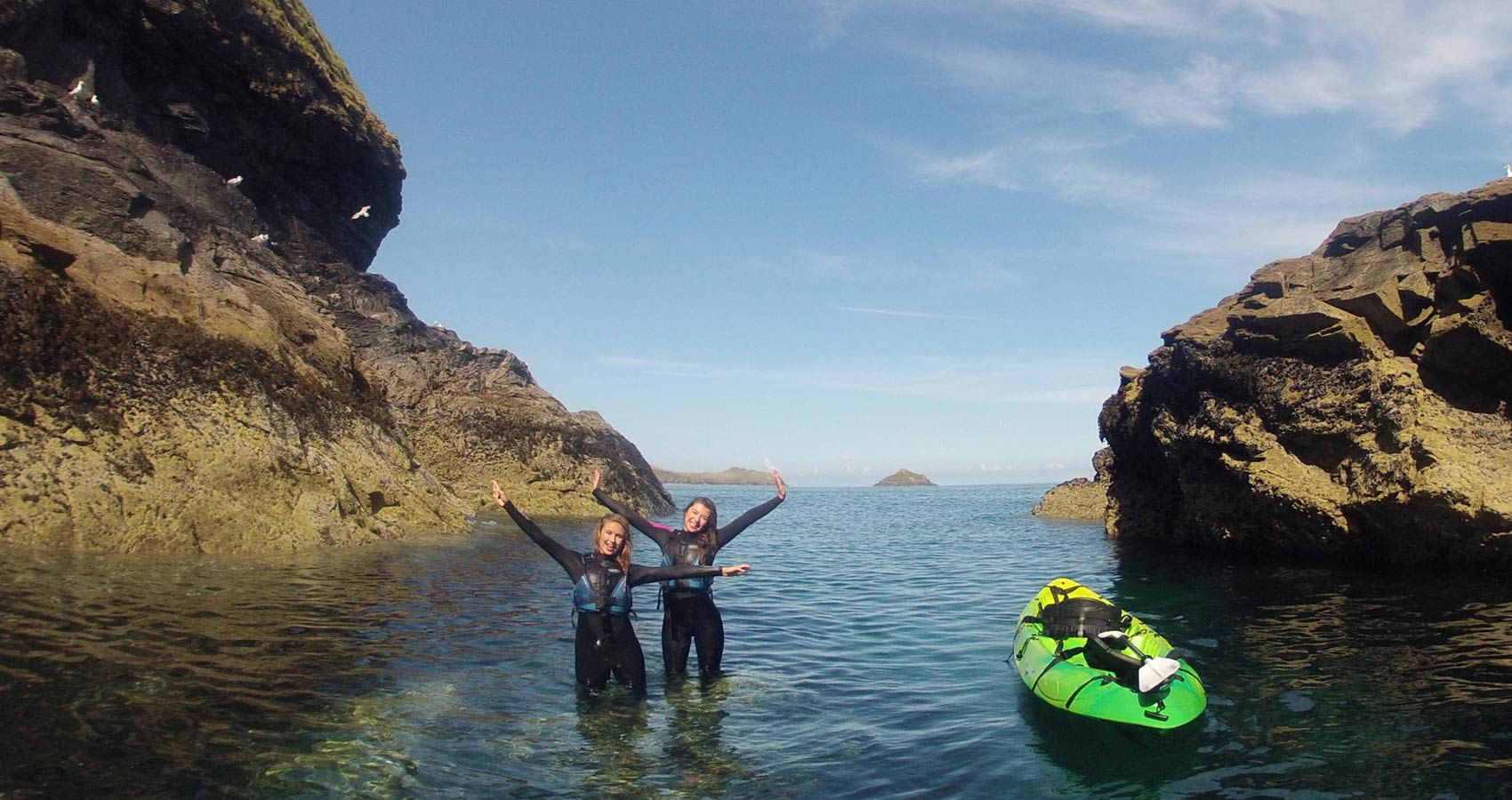 E.g. 'Kayak tours Polzeath, Cornwall'