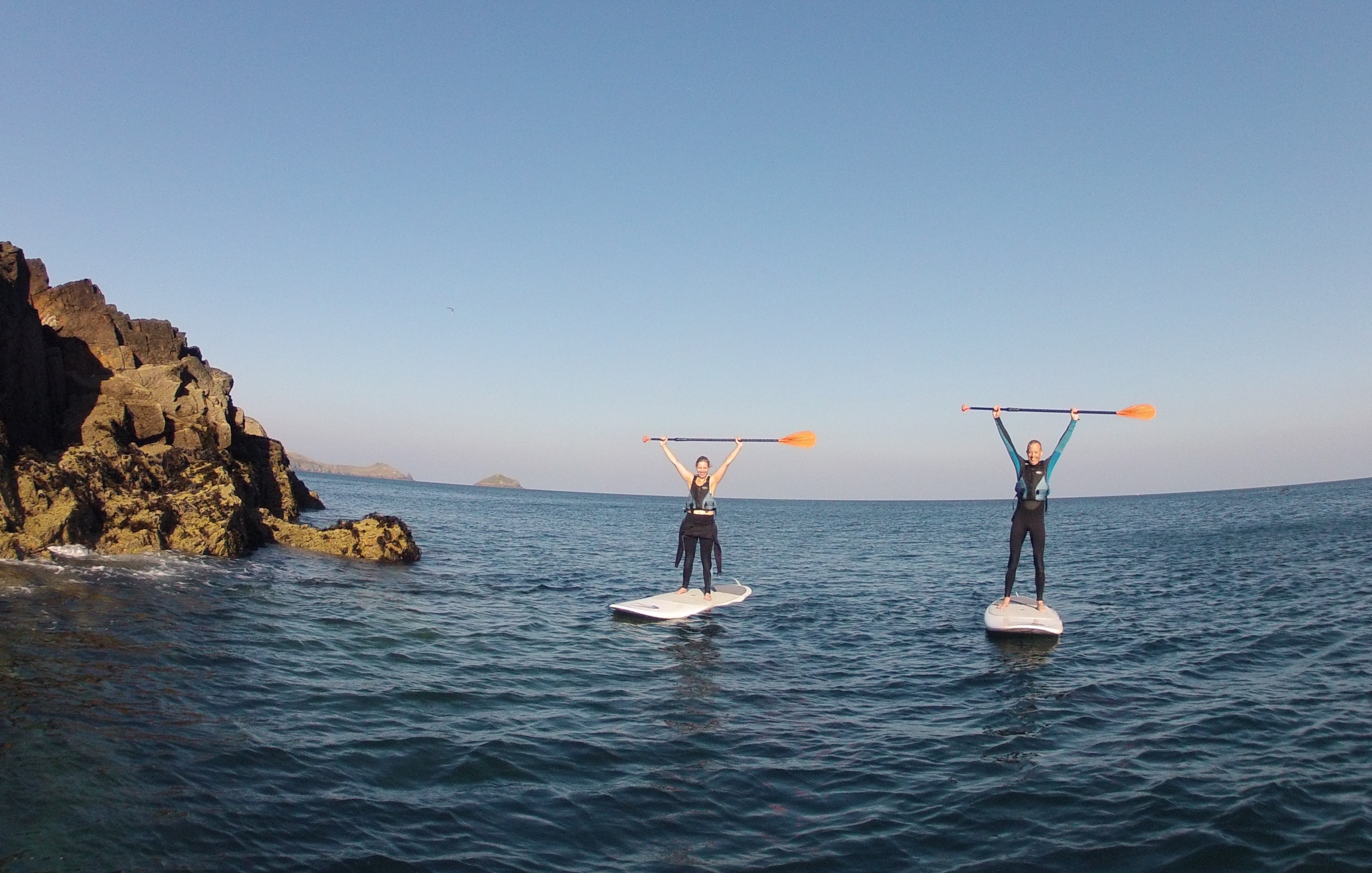 Stand up paddle board hire Port Quin