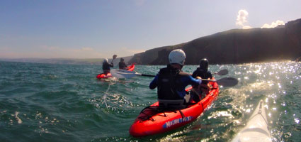 Classic Kayak Tours from Port Gaverne and Port Isaac.